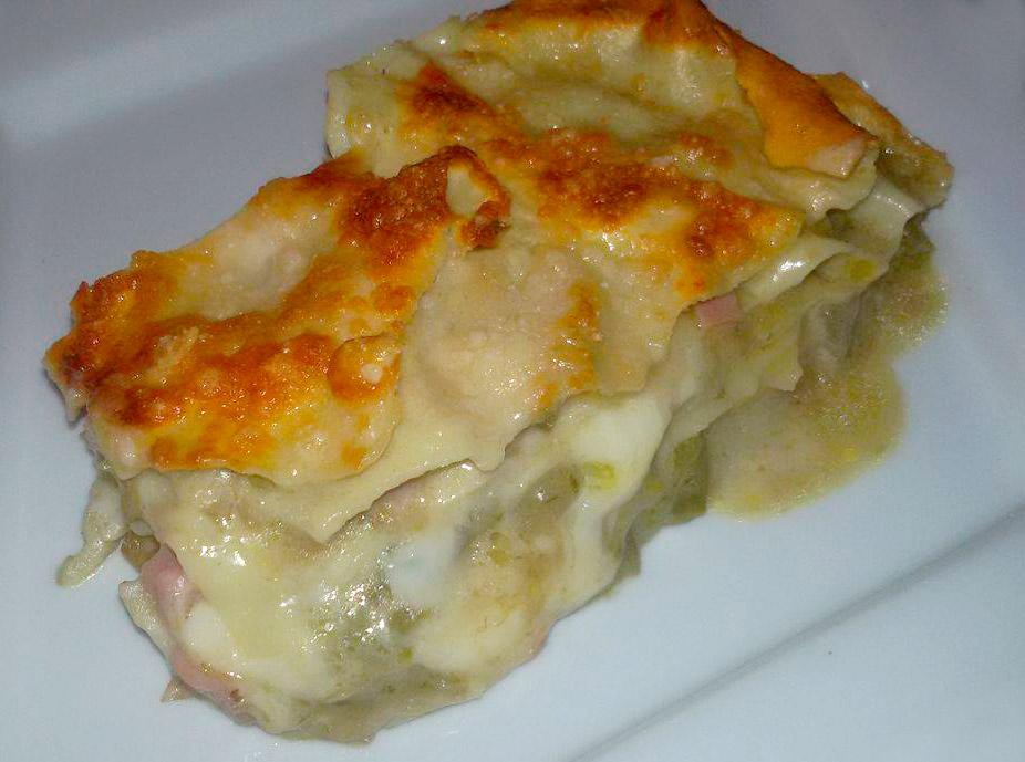 Lasagna bianca ai carciofi e asparagi | DIMARINO | Azienda
